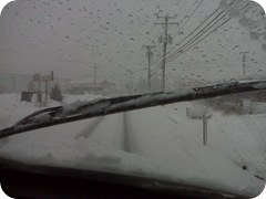 driving in the snow