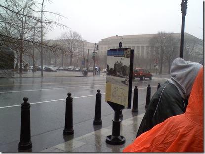 rain white house